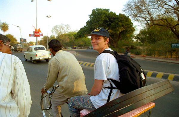 Vélo Rickshaw, deal pour faire du shopping