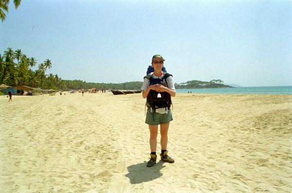 Arrivée à Palolem: cocotiers, plages, mer, le rêve!