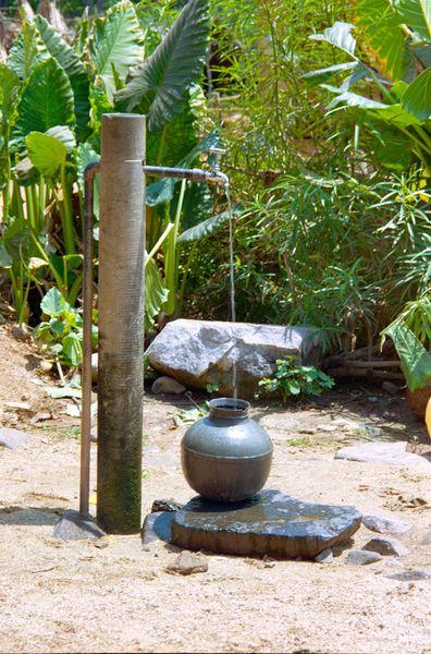 Le 'puits' du village