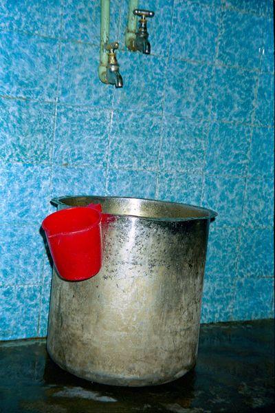 La baignoire de notre hôtel
